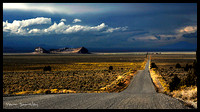 JUNE 2011 IMAGE OF THE MONTH : THE ROAD TO FORT ROCK