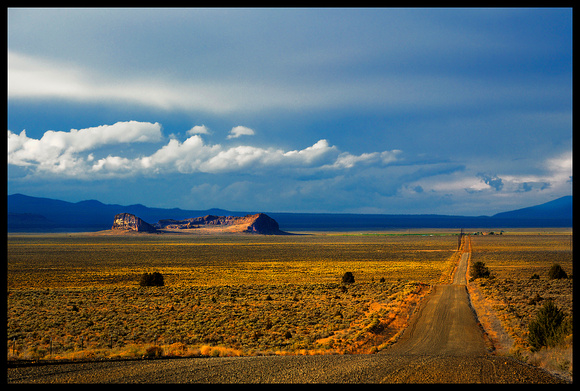 THE ROAD TO FORT ROCK, OREGON