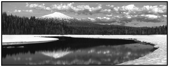 MT. BACHELOR'S REFLECTION